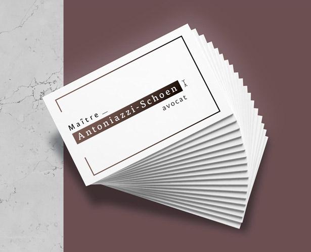 Création logo et papeterie d'un avocat