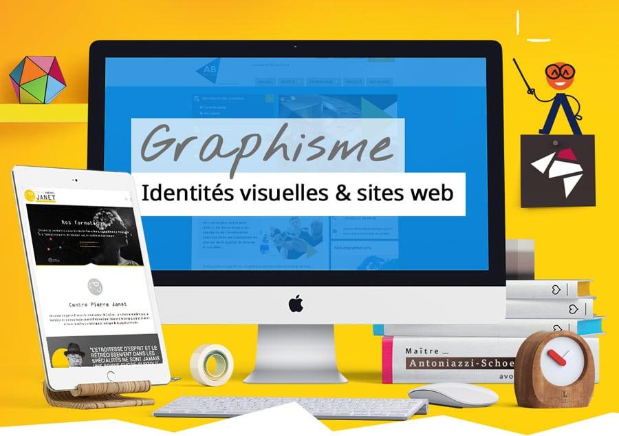 Graphisme - identité visuelle et sites web