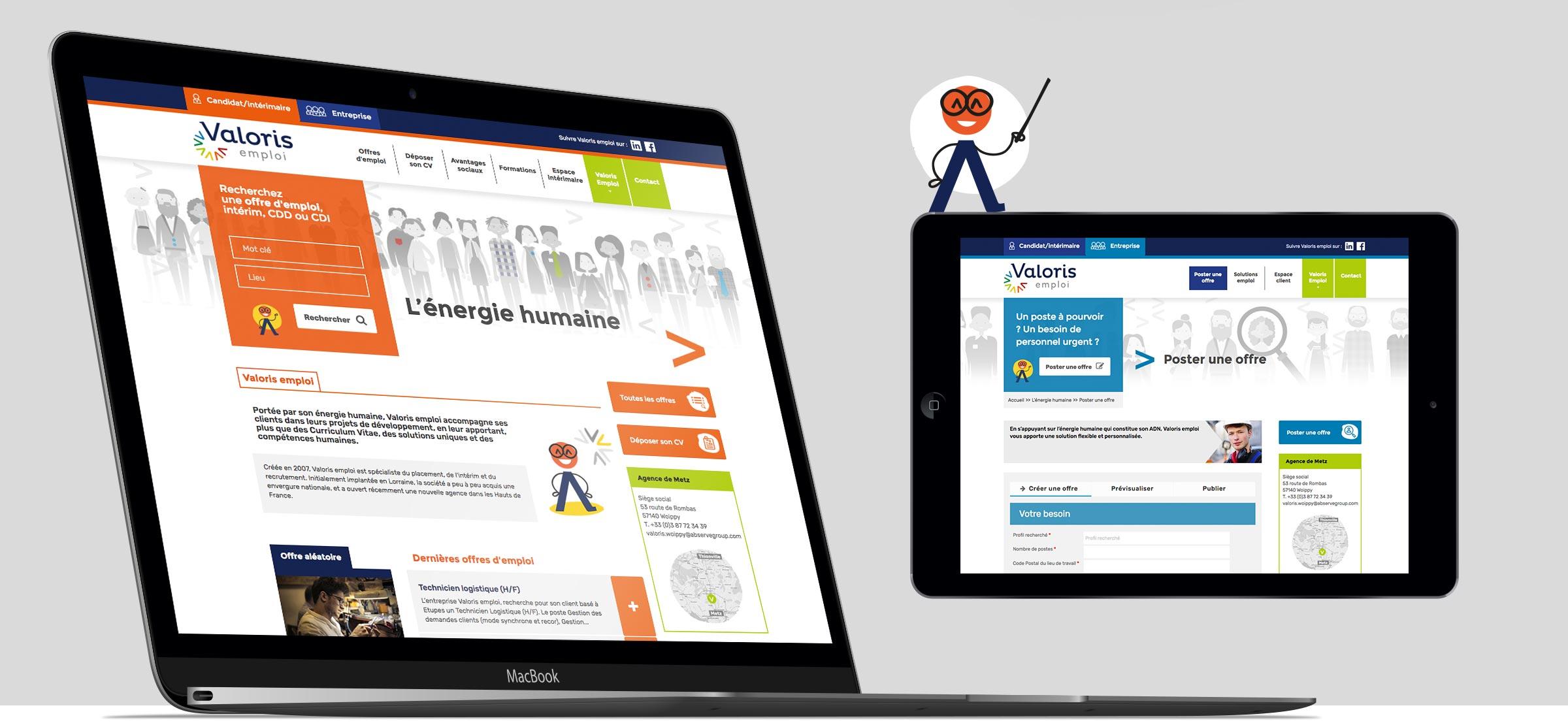 Création d'un site internet responsive